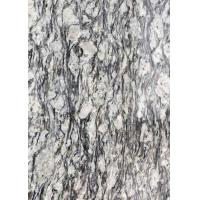 China Polished Flamed Granite Stone Slabs Spray White Seawave Flower G708 Countertop on sale