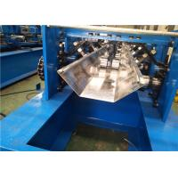 Cheap Speed Adjustable Greenhouse Gutter Roll Forming Machine Schneider PLC Control for sale