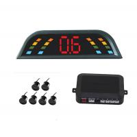 Best 6 Sensors CE Car Reversing Reverse Parking Kit Buzzer Alarm LED Display Parking Aid two front sensor four back up sensor wholesale