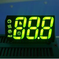 """Buy cheap Green 3 Digit 0.67"""" Custom LED Display 7 Segment For Cooling from wholesalers"""
