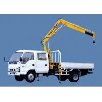 Buy cheap XCMG SQ1ZK2 Knuckle Boom Truck Mounted Crane , 1400kg Wire Rope Raise for Sales product