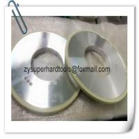 China 1A1 D300 vitrified bond diamond grinding wheels for pcd tools on sale