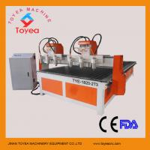 China Multi-heads Wood CNC Engraving machine with Taiwan linear rail TYE-1820-2T3 on sale