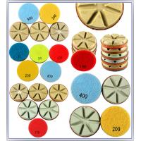 Best Diamond Polishing Pads Dry Use For Hard Concrete C40+(40 mpa.) and Terrazzo wholesale