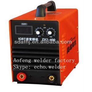 Best IGBT DC STICK/ MMA welding machine ZX7-400 Continuous digital industrial inverter welder wholesale