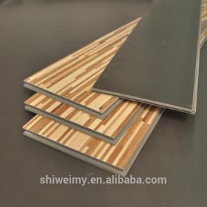 Best Mixed colors grid design modern flat wooden texture laminating flooring wholesale