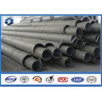 Best 50FT LENGTH Q345 Electric power Transmission Pole with Burial Type 2 Section wholesale