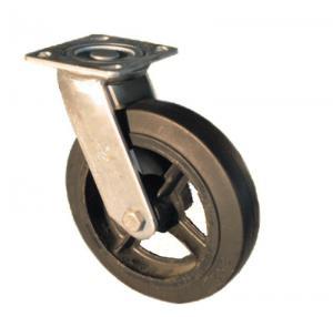 China Grade B Type Rubber Castor Wheel on sale