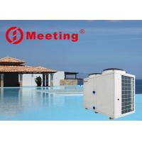 China Low - Temperature Borderless Swimming Pool Heat Pump Galvanized Steel Sheet Material on sale