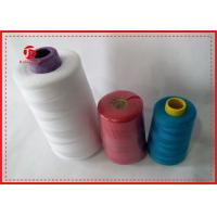 Buy cheap 100% Polyester High Tenacity Sewing Thread 40/2 Polyester Spun Yarn For Dyeing product