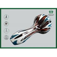 Best Borosilicate Colorful Glass Water Bongs 5mm Thickness Peking Opera Mask Printed wholesale