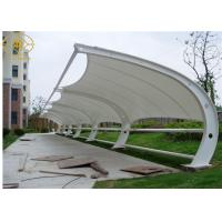 China Anti - Aging Canopy For Car Parking , Commercial Building Solar Shades For Cars on sale