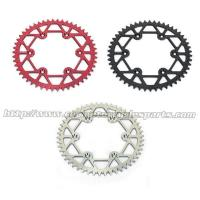 China Self Cleaning Dirt Bike Sprockets 520 Motorcycle Chain Sprocket Honda CR CRF 125 250 on sale