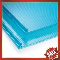 Best U lock hollow pc sheet,locking structure multi wall sheet,U lock polycarbonate sheet,locking pc sheet for building cover wholesale
