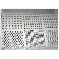 Cheap Round Hole Perforated Aluminum Plate , 3003 H14 Aluminum Sheet With Holes for sale