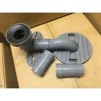 Best Gray PVC Toilet Siphon Tube , Toilet Drain Fittings Washroom Appliance Connector wholesale