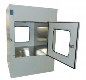 Best Microelectronics Clean Room Air Shower Pass Box External Size 950X1100X1300mm wholesale