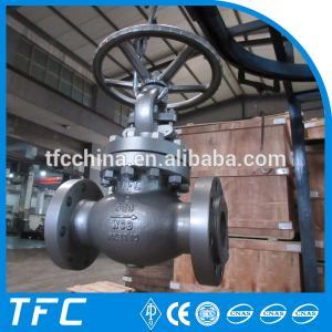 China 3 inch globe valve 600lb, 300Lb globe valve on sale