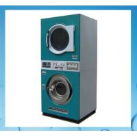 China stack laundry washing machine and dryer 12KG+12KG for laundry stores,shops on sale