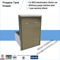 Best Roll-Out Propane Tank Storage Bin For Barbecue Island wholesale