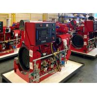China High Performance Fire Pump Diesel Engine 209kw With Speed 2100RPM , UL Listed on sale
