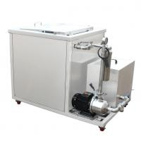 1 inch Drain valve Industrial Ultrasonic Cleaner , 540L ultrasonic cleaning equipment