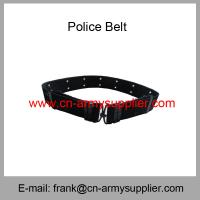 Wholesale Cheap China Army  Navy Blue PP Polyester  Military Police  Belt