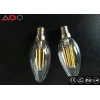 Best C35 Shape E12 Led Filament Bulb Ac 120v 4w 2700k With Clear Glass Cover wholesale