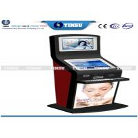 China Shopping Mall Self Service Computer Kiosk Strong Functional And Security on sale