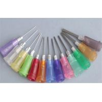 China PS14G025 / PS15G025 Dispensing Needle Blunt Tip , 23 gauge Flat glue Needle on sale