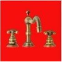 Best 3 Holes Bathroom Bronze Kitchen Brass Sink Basin Faucet Mixer Taps wholesale