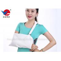 China White Pain Relieving Broken Arm Sling Kids Provide Optimized Support And Comfort on sale