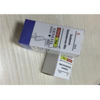 Recyclable Material 10ml Vial Boxes / Steroid Box Packing CMYK Color Printing