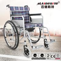 China Customized Color Lightweight Manual Wheelchair Easy Cleaning 1 Year Warranty on sale