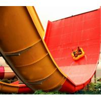 Best Large Fiber Glass Water Slide Games , Adult Boomerango Water Slide wholesale