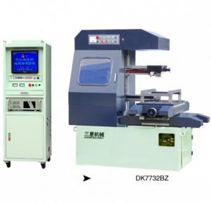 China Medium speed CNC wire cutting EDM machine -DK7732BZ on sale