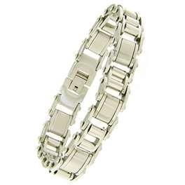 Best Golden Stainless Steel Chains charm Bracelets for Men 1420135 wholesale