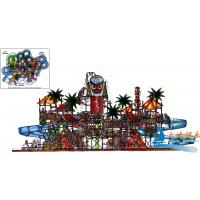 Best Fiberglass And Steel Pipe Commercial Water Park Structures Playground Equipment For Kids wholesale