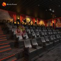 China Haunted House Park Equipment 4d 5d 7d Horror Cinema Movie Theater Chairs on sale