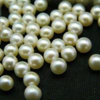 China 7mm WhiteSweet Water Pearl, Round Shape, Various Colors are Available on sale