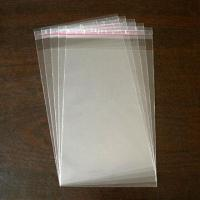 Best Clear Plastic Packaging Bag with Self-adhesive Tape Seal in 12 x 21.5cm wholesale