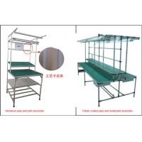Best Lean Pipe Rack Workstation Industrial Workbench Aluminum Plastic Coated Metal Joint wholesale