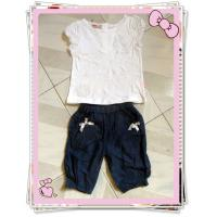 China Children`s T Shirt and pant set on sale