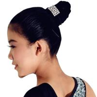 Best Ballet Lyrical Dance Dress Accessory Crystal Hair Elastic Bands Party Performance Costumes Accessory For Girls wholesale