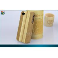 Best Bamboo / Wood  Iphone 4 Protective Cases With Comfortable Clothes Inside wholesale