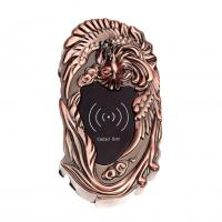 China Plated Antique Copper Electronic Cabinet Lock Card / Key Open For Swimming Park on sale