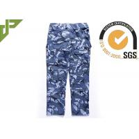 Best Ocean Military Style Cargo Pants , Polyester Cotton Combat Trousers With Knee Pads wholesale