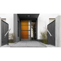Best 6063 - T5 Aluminum Framed Decorative Security Doors Powder Coating wholesale