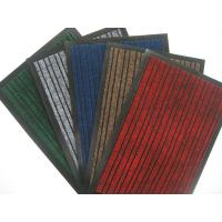 China Green, black Polypropylene Door Mat for home and business 3&5 STRIPPED MAT on sale