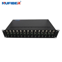 Best Iron Shell 19 Inch Rack Mount Chassis , 14 Slots 2u Rackmount Server Case wholesale